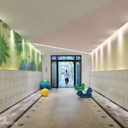 金色童年绿地幼儿园游乐区设计图