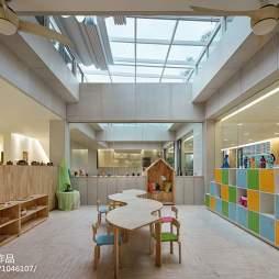 金色童年绿地幼儿园玩耍区设计图