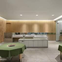 金色童年绿地幼儿园食堂设计图