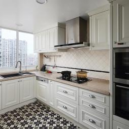 经典美式厨房设计图片