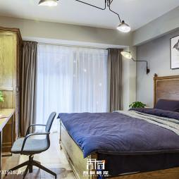 混搭风别墅卧室设计
