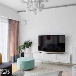亮白色客厅设计图片