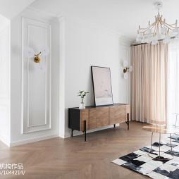 法式客厅电视柜设计图