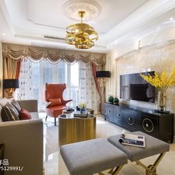 欧式四居客厅设计图