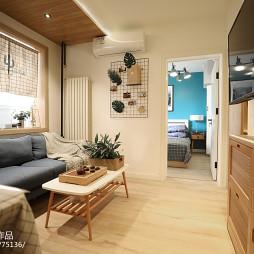 混搭二居小客厅设计图