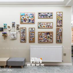 混搭玄关照片墙设计图