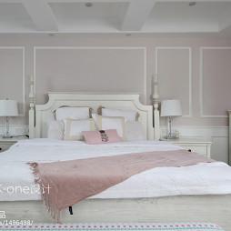 美式别墅主卧室设计图片