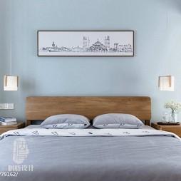 日式卧室挂画设计图