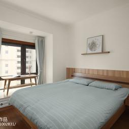 日式三居主卧室设计图片