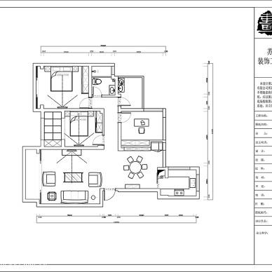 苏州画年代设计—南山金城80平改造130平_3204037