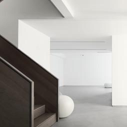 现代简约别墅楼梯设计图