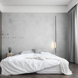 现代简约别墅主卧设计图