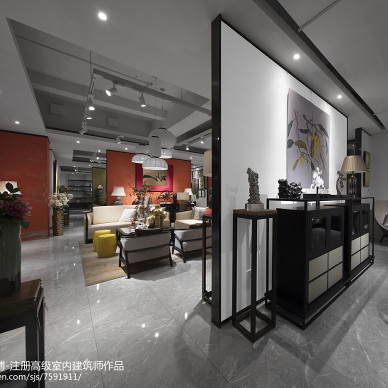 新中式家居展厅_3204772