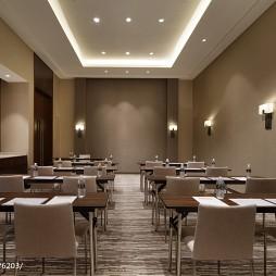 混搭风精品酒店会议室设计图