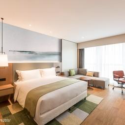混搭风精品酒店房间设计图片