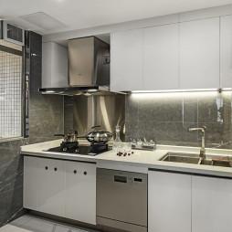 小户型现代厨房设计实景图