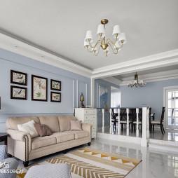 美式客厅吊灯设计图片
