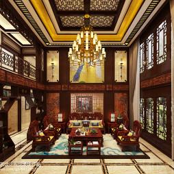 中式古典奢华别墅_3207256