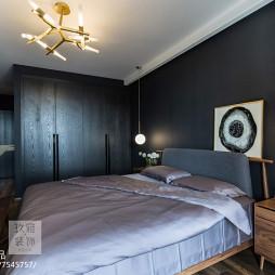 北欧主卧室设计图片