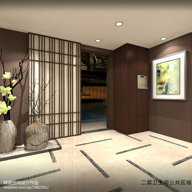 峰阁空间设计——中式卫生间_3208904