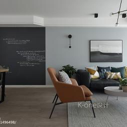 美式简单客厅设计图