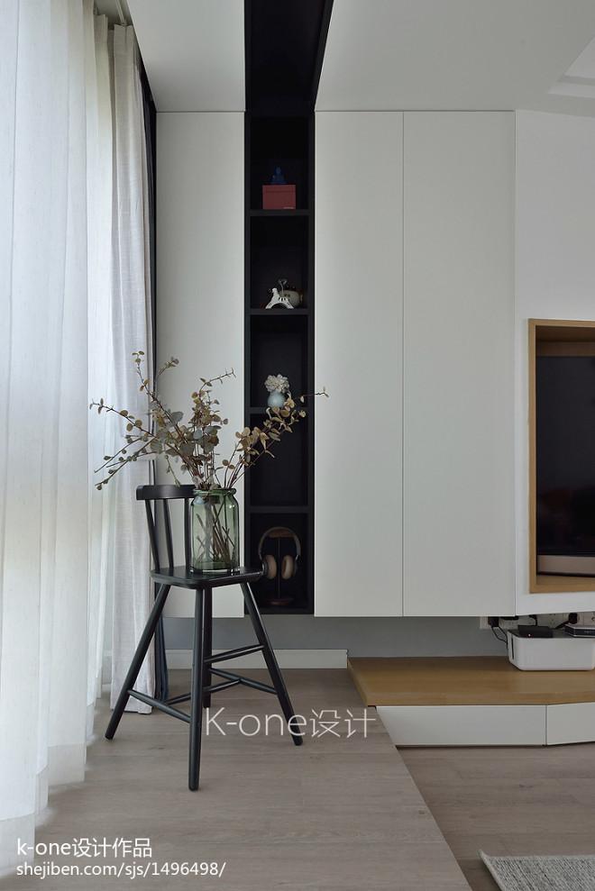 美式客厅储物柜设计图