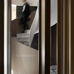 无锡展厅楼梯设计图