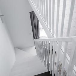 简约四居楼梯设计