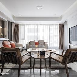 温馨风现代客厅设计图片