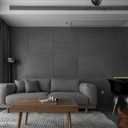 深色系个性客厅设计图片