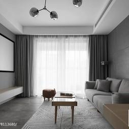 深色系个性客厅沙发设计