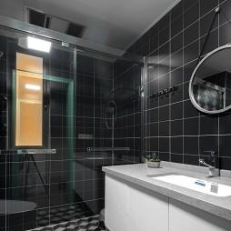 深色系个性卫浴设计图