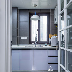 北欧复古厨房设计