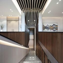 售楼中心楼梯设计实景