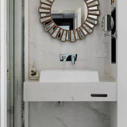 简约轻奢卫浴洗手台设计