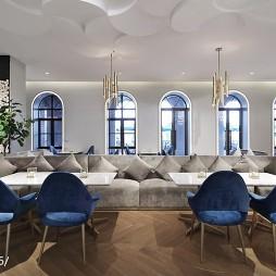 美的鹭湖岭南花园酒店洽谈区设计