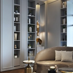 美的鹭湖岭南花园酒店展示柜设计