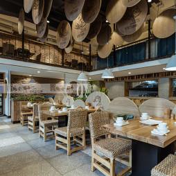 军力烧烤中餐厅吊顶设计