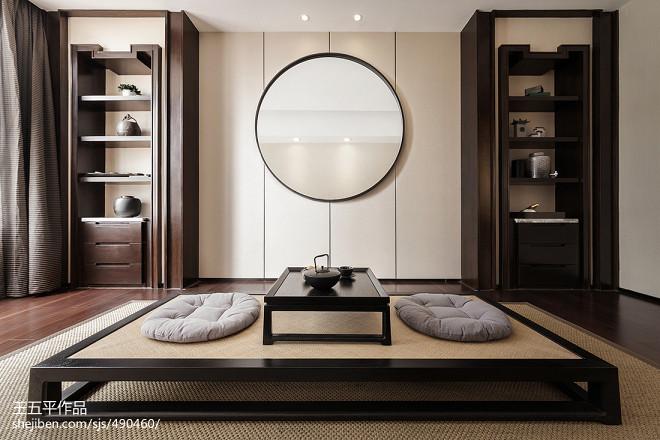 新中式极简休闲区设计
