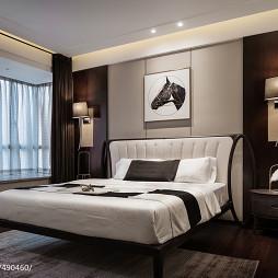 新中式极简主卧室设计