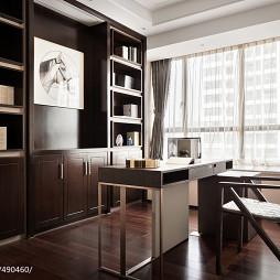 新中式极简书房设计