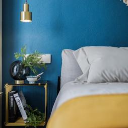 110㎡极致北欧风卧室吊灯设计