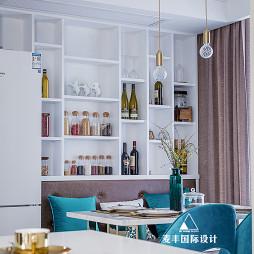 輕奢餐廳儲物柜設計