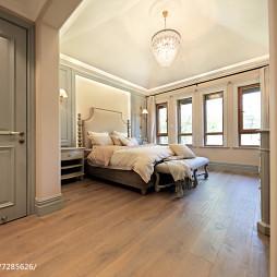 轻奢美式别墅卧室设计