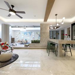 美式别墅地下室设计实景