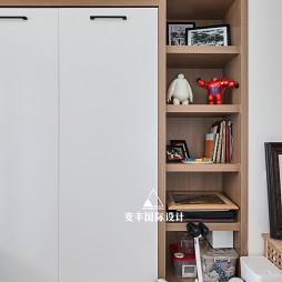 简易北欧风书柜设计