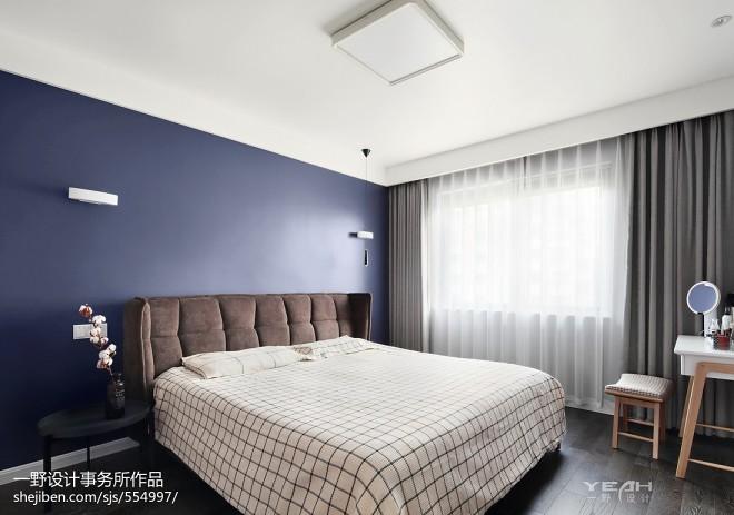 210m²简约风格卧室设计