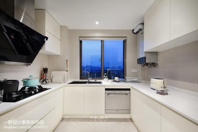 210m²简约风格厨房设计