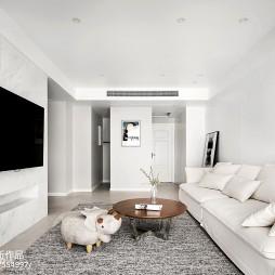 210m²简约风格客厅设计图