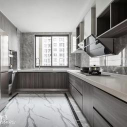 现代轻奢厨房设计
